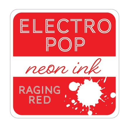 Rina K Designs Electro Pop Inks, Raging Red picture