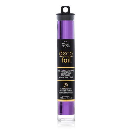 Deco Foil™ Transfer Sheets • Purple picture