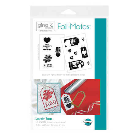 Gina K. Designs Foil-Mates™ Tags • Lovely Tags picture