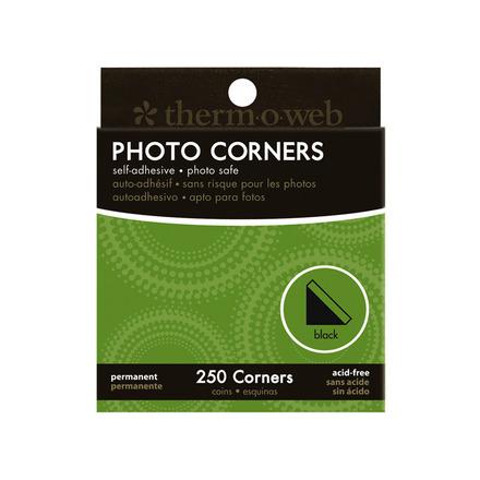 Photo Corners • Black picture