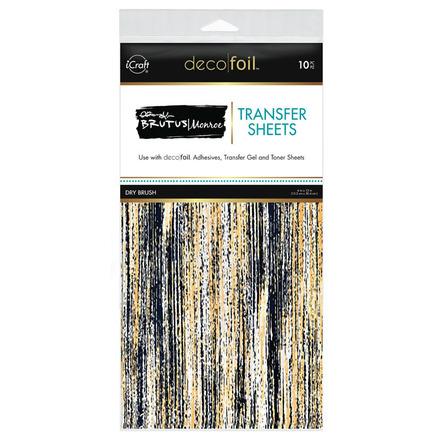 Brutus Monroe Foil Transfer Sheets - Dry Brush picture