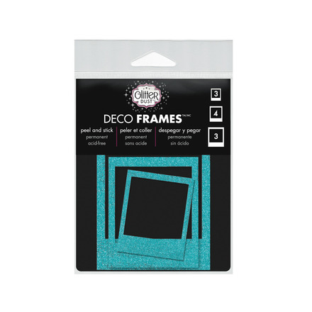 Glitter Dust™ Photo Frame Assortment-Teal picture