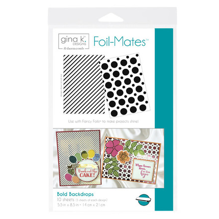 Gina K. Designs Foil-Mates™ Backgrounds • Bold Backdrops picture