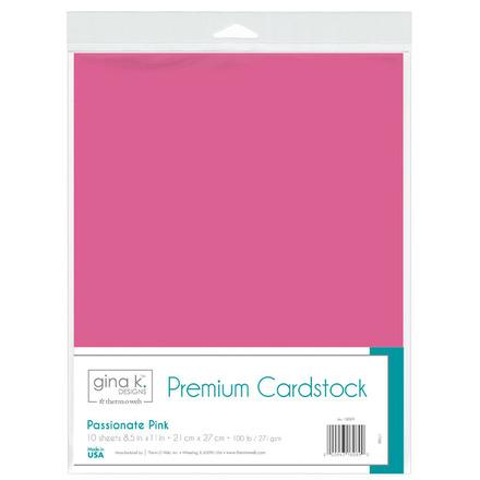 Gina K. Designs Premium Cardstock • Passionate Pink picture