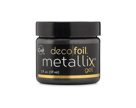 Deco Foil Metallix Gel – Black Ice picture