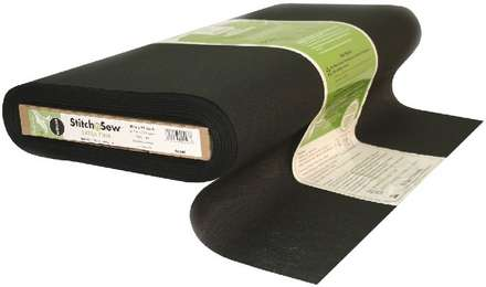StitchnSew Woven Sew-In Extra Firm (Black 20 in. x By The Yard) picture