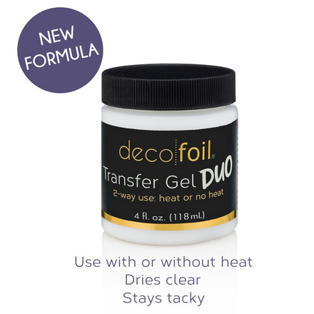 Deco Foil Transfer Gel DUO - 4 fl. oz.