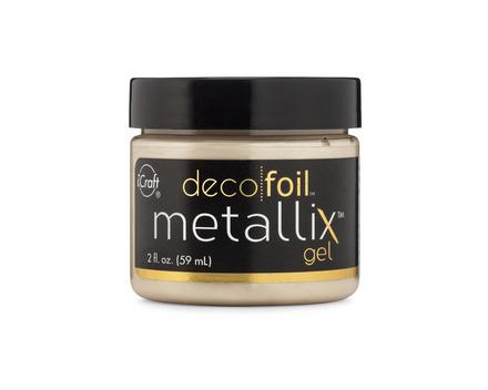 Deco Foil Metallix Gel – Champagne Mist