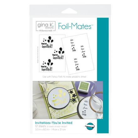 Gina K. Designs Foil-Mates™ Invitations • You're Invited picture