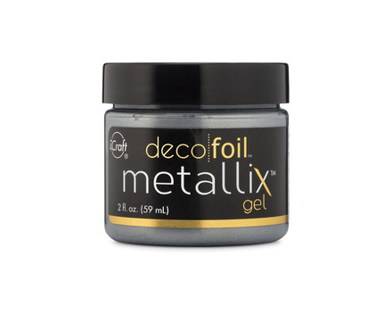 Deco Foil Metallix Gel – Glazed Pewter picture