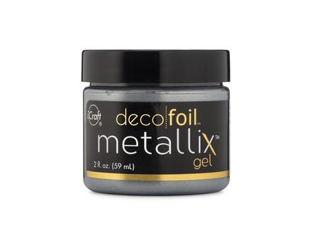 Deco Foil Metallix Gel – Glazed Pewter picture