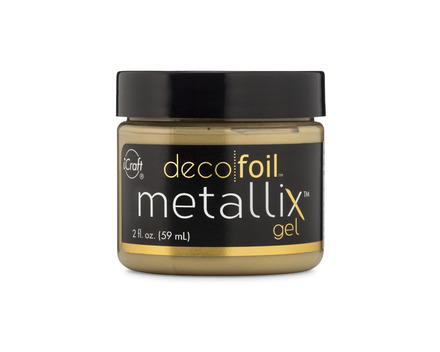 Deco Foil Metallix Gel – Pure Gold picture