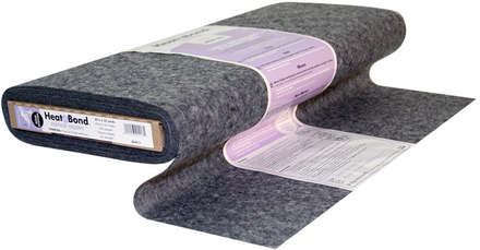 HeatnBond Non-Woven Fusible Feather Weight (Charcoal 20 in. x By The Yard) picture