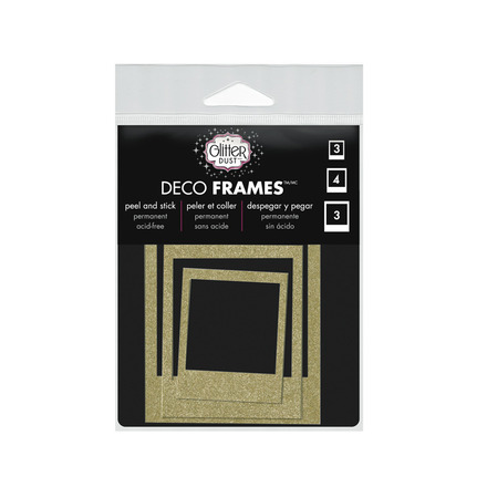 Glitter Dust™ Photo Frame Assortment-Gold picture