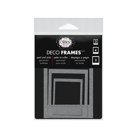 Glitter Dust™ Photo Frame Assortment-Silver picture