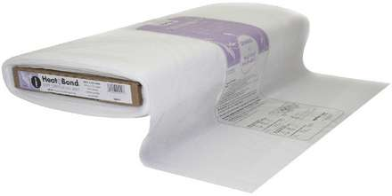 HeatnBond Tricot Fusible Soft Stretch All Bias (White 20 in. x By The Yard) picture