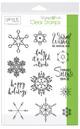 Gina K. Designs StampnFoil Stamp Set, Baby it's Cold Outside