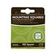 Mounting Squares • 500 Ct