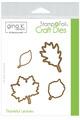 Gina K. Designs StampnFoil™ Die Set • Thankful Leaves