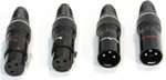 Rhodium Plated XLR Connector (Set of 4)