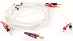 T90 DIVA Solid Core Silver Plated Speaker Cable - Terminated Pair