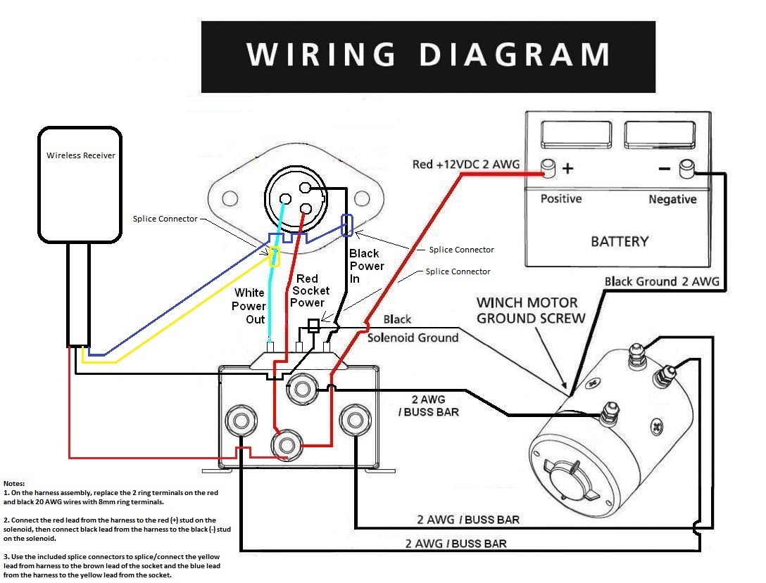 Wireless Atv Winch Wiring Diagram, Wireless, Free Engine