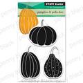 pumpkin & polka dots