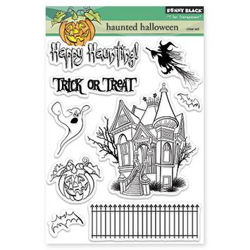 haunted halloween picture