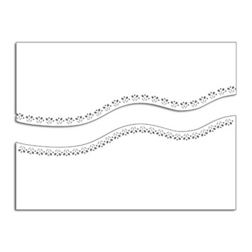 wavy stitch edges picture
