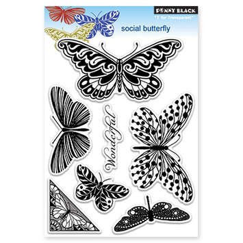 social butterfly picture