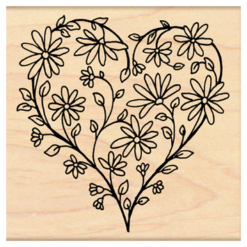 daisy heart picture
