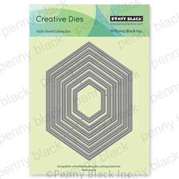 hexagon frames picture