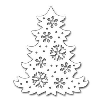 snowflake tree picture