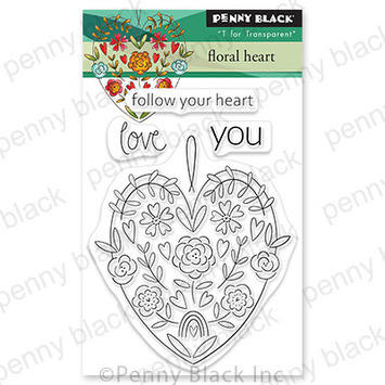 floral heart picture