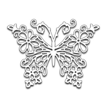 floral butterfly picture