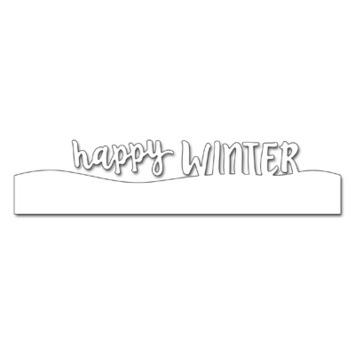 winter snow script picture