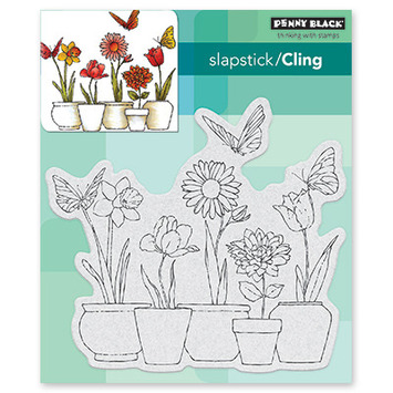 potted flowers picture
