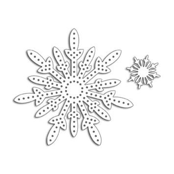 stitch a snowflake picture
