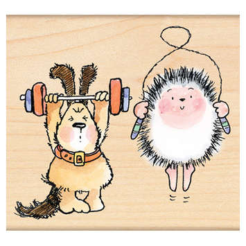 critter workout picture
