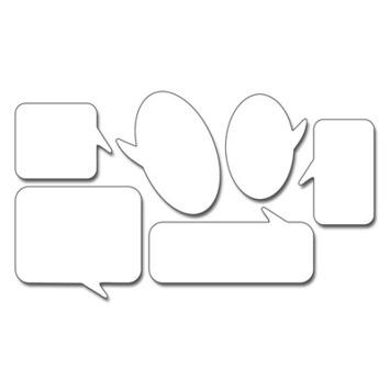 chat bubbles picture