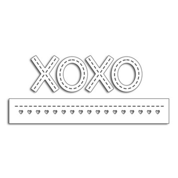 stitched xoxo picture