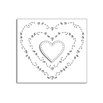hearts around picture