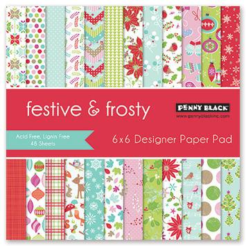festive & frosty picture