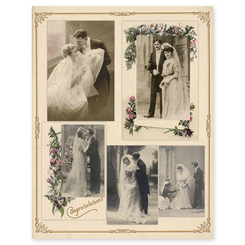 vintage wedding picture