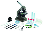 640x Die-Cast Optical Microscope w/ Dual Lights