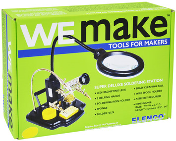 We Make Super Deluxe Soldering Station with Tools picture