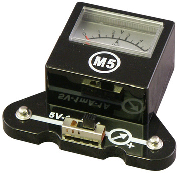 5V-1mA-1A Meter picture