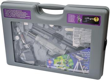 Microscope & Telescope w/Survival Kit picture