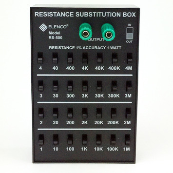 1% 1 Watt Resistor Substitution Box picture