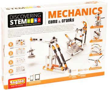 Engino ® - STEM Mechanics:Gears & Worm drives picture
